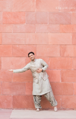 Indian groom portrait by A Few Good Clicks
