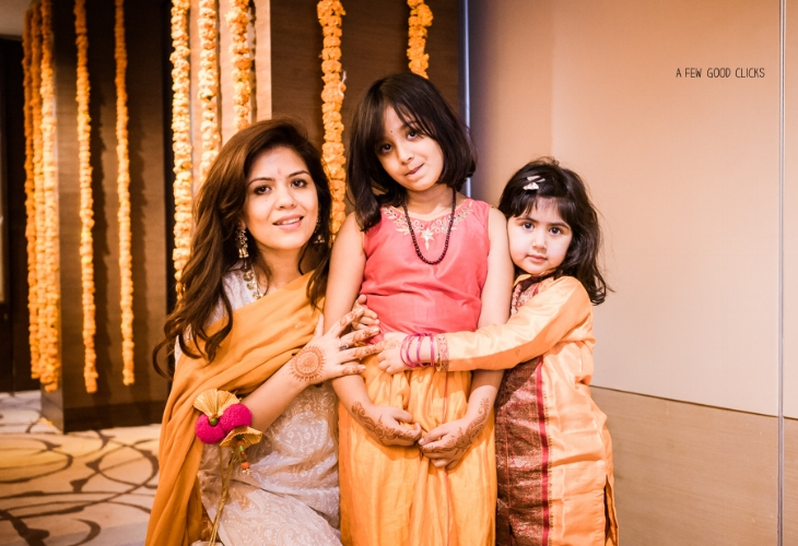 Wedding party | Haldi ceremony photography | Bay Area based wedding lifestyle photographer