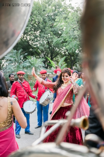 Photos of Indian wedding baraat (the wedding procession) are unmissable.