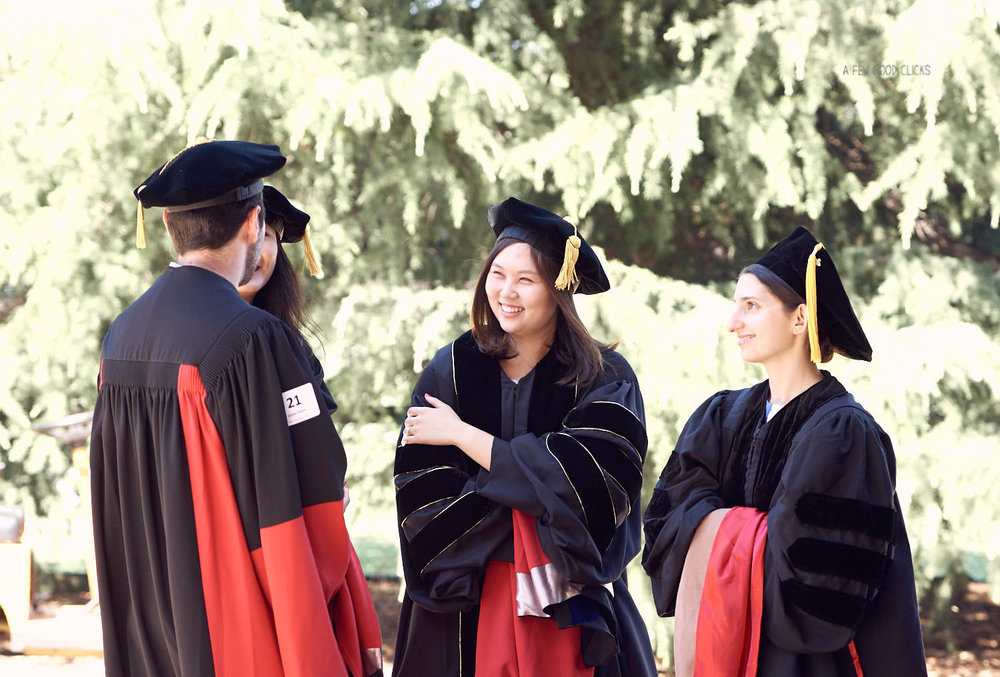 Stanford students sure knew how to have fun on the graduation day.