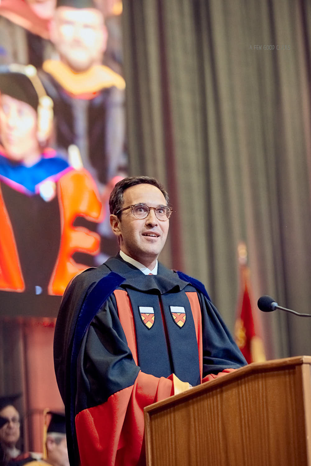 Welcome remarks by the Dean Jonathan Levin at Stanford.