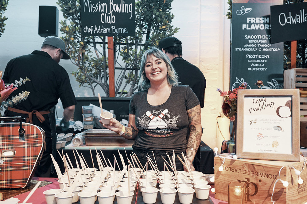 Chia Puddding Stand at Eat Food SF - My Favourite!