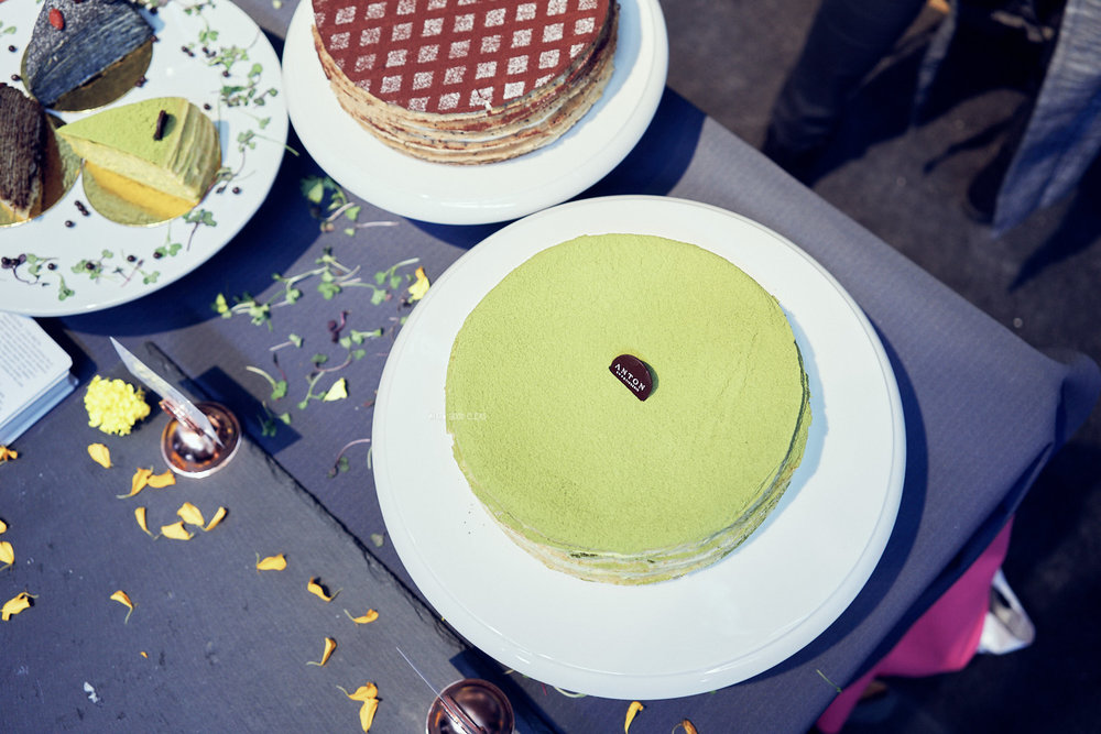 Antoine's Mille Crepe Cakes - Amazing as always. you can read more about their  cakes here.