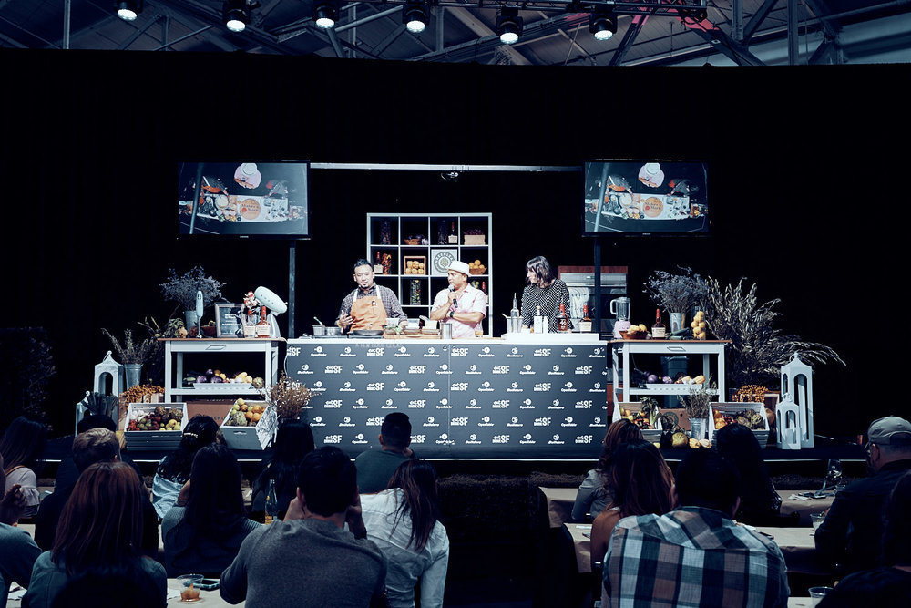 Cookery Class at Eat Food Sf Event