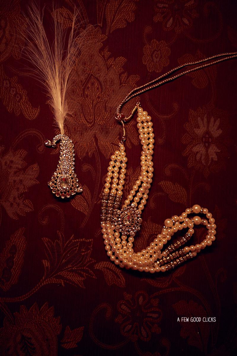 Groom's jewellery in Indian weddings.