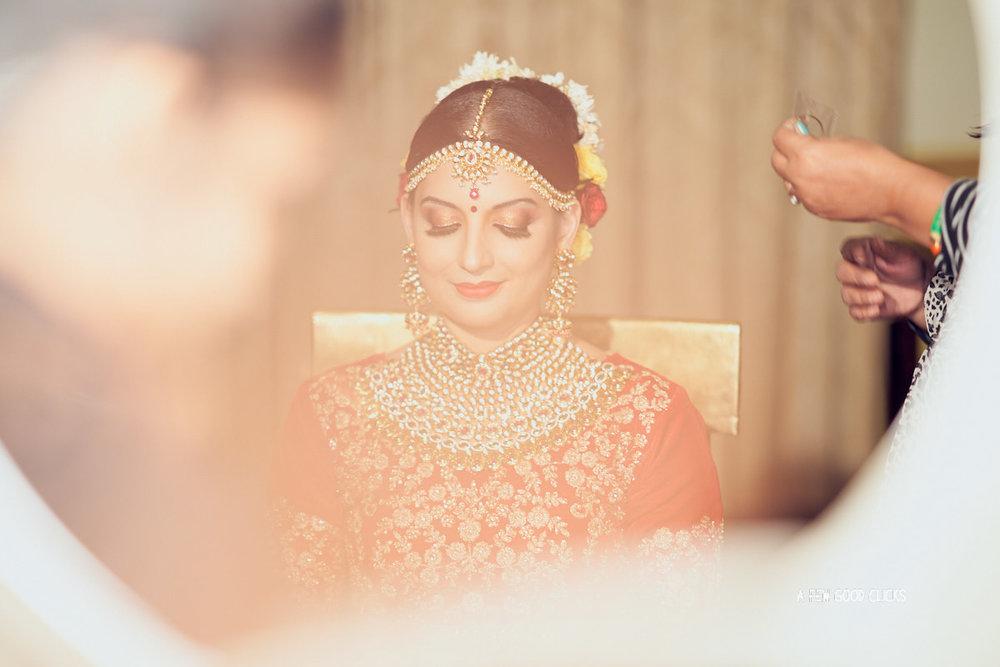Royal Rajput Bride getting ready shot.