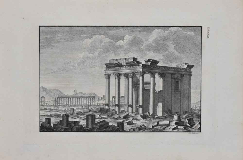 plate, woods & dawkins 'the ruins of palmyra