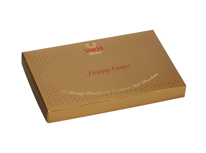 """Gold """"Happy Easter"""" 250Gm Gift Box"""