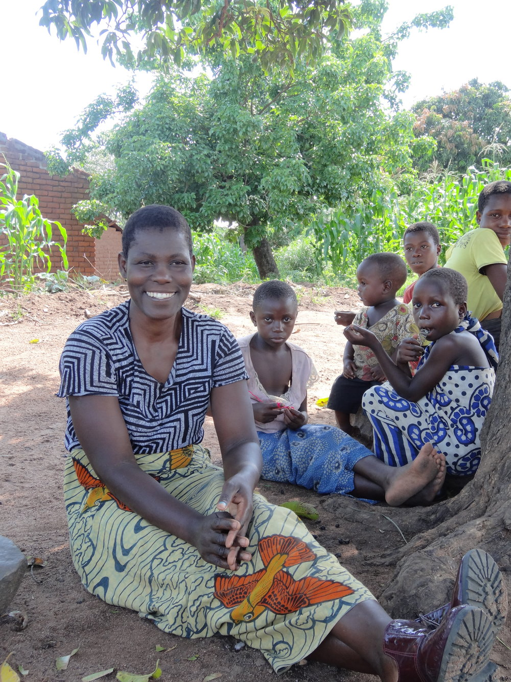 Gladys Nkwanda, single mother of Seven