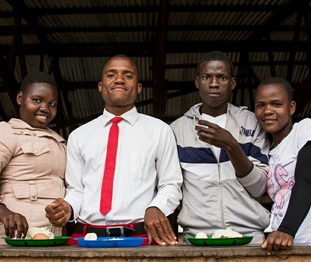 The new school term for all vocational school in Malawi begins in July, so we got visits from our friends at Soche Technical College and the Accountancy Tuition College while they were on their mid-year holiday. Pictured here are students of plumbing, textile and fashion design, and accounting! ⠀ .⠀ .⠀ .⠀ #miqlat #malawi #games #hope #children #nonprofit #education #tia #thisisafrica #girlchild #kogoyahopecenter #thyolodistrict #alivetothrive #college #teveta #communitycollege #vocationalschool #icam #accounting