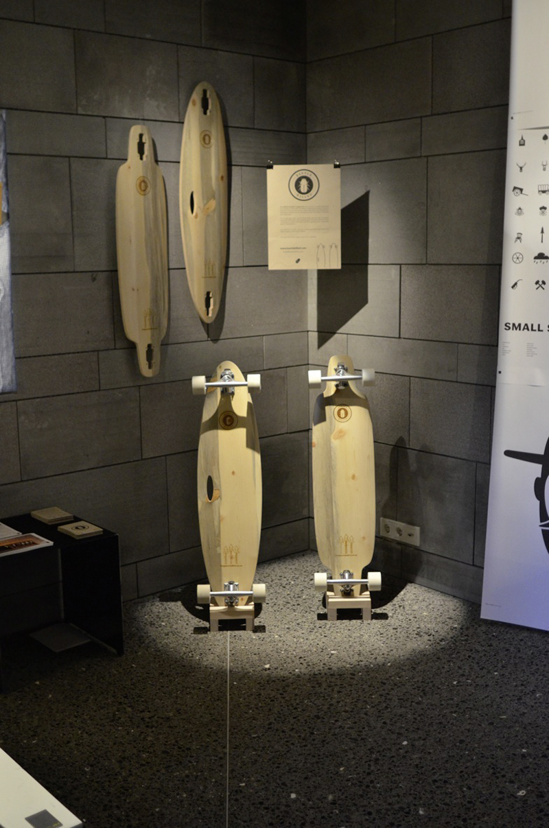 Beetle kill longboards