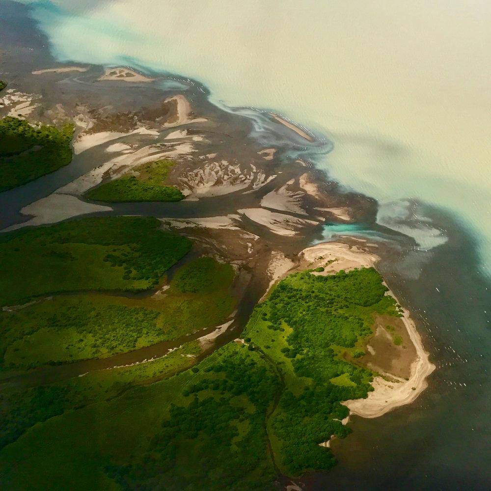 Flying into Egilsstaðir.