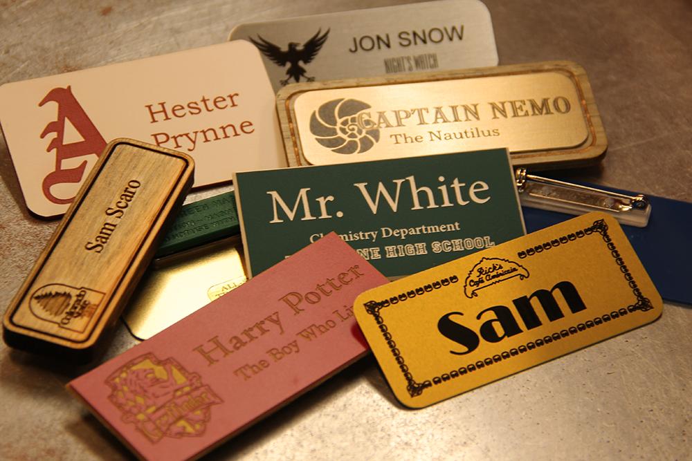 Custom Name badges