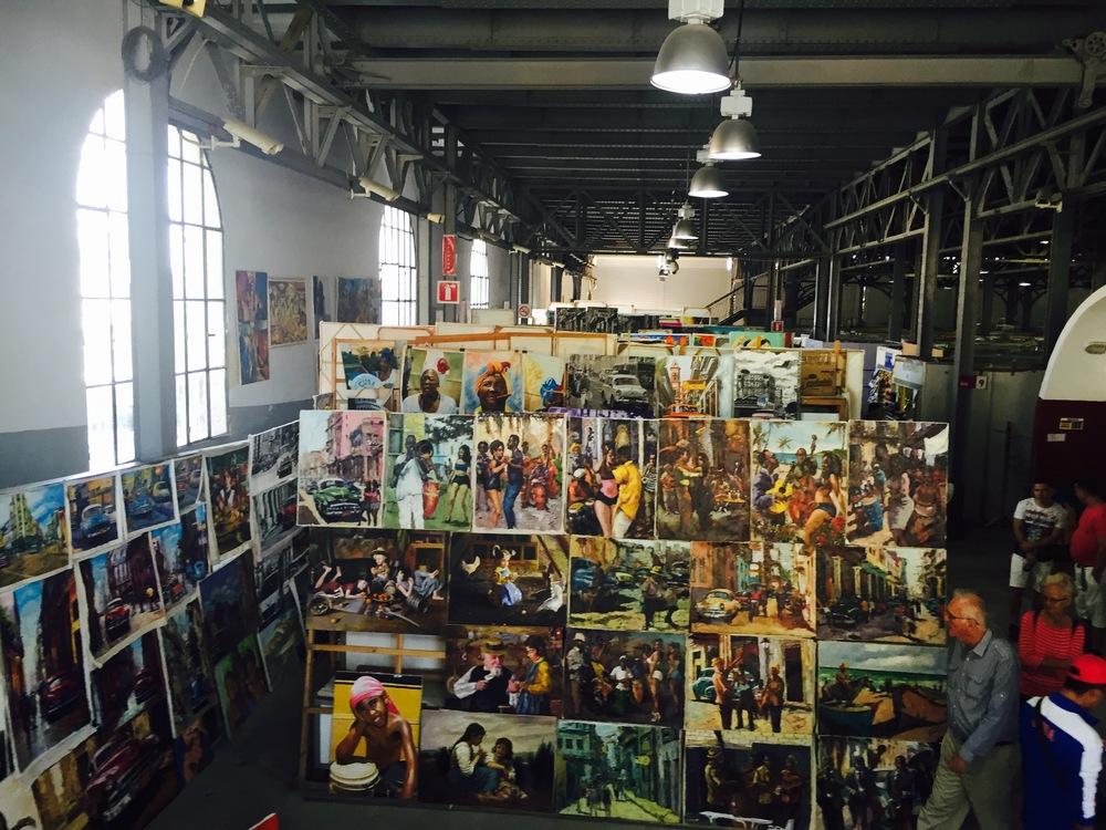 Havana's Art Market
