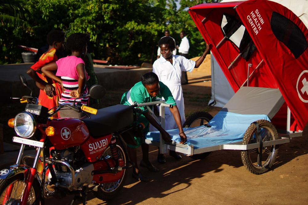 The motorcycle ambulance.JPG