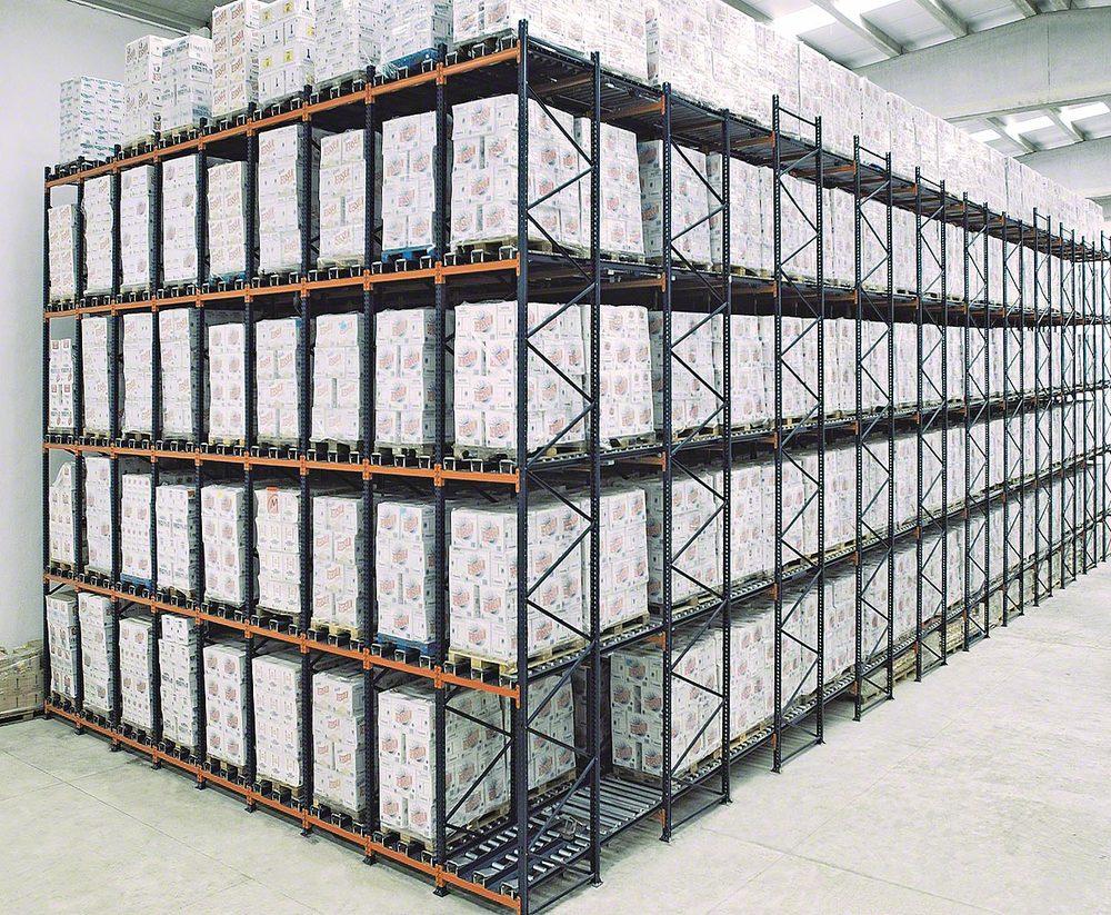 Pallet Live Storage