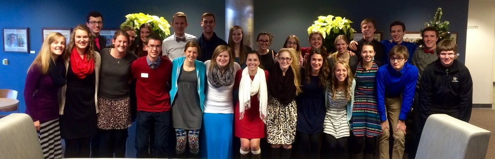Here are a few of the students who embodied Isaiah 58 this Dressember.