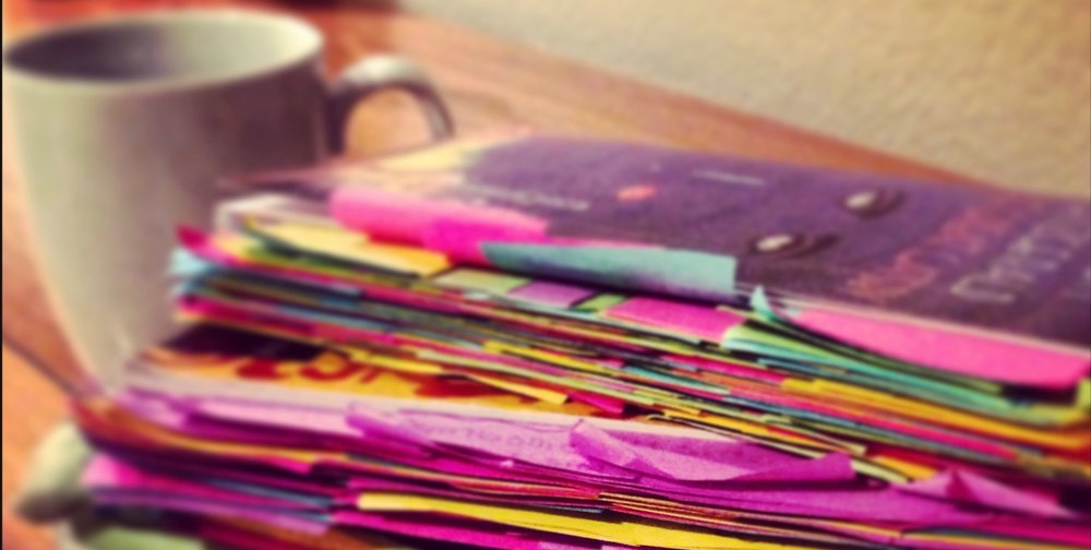 SO MANY COLOR-CODED STICKY NOTES AND HALF-FINISHED MUGS OF TEA WERE HARMED IN THE UNDERTAKING OF THIS DEGREE.