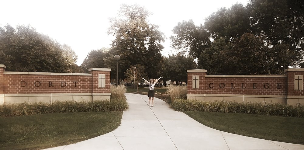 Is taking a picture next to the Dordt sign a ritual? I think so.