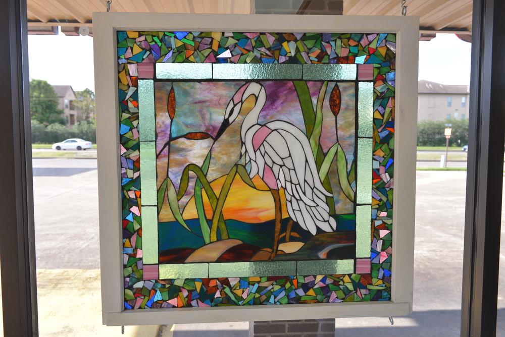 """""""Egret"""" by Donna Tobias"""