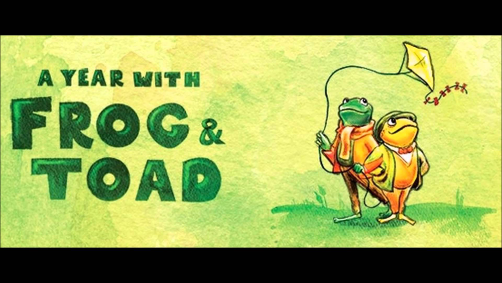 A Year With Frog and Toad (Family) Live at Tarrytown: Sun., 3/12/17 @ 2pm