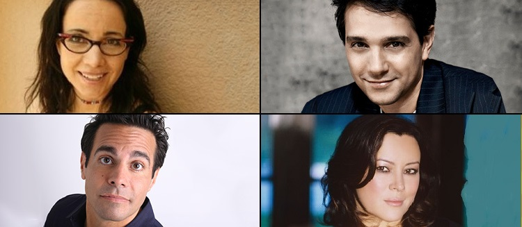Celebrity Autobiography ... starring Mario Cantone, Janeane Garofalo, Ralph Macchio & Jennifer Tilly, March 4th at 8 PM at Landmark on Main Street