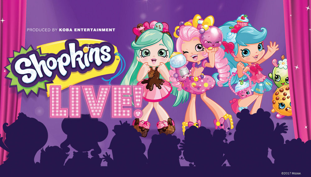 Shopkins Live! | 9.26 | 3:30 PM & 6:30 PM | Tarrytown Music Hall