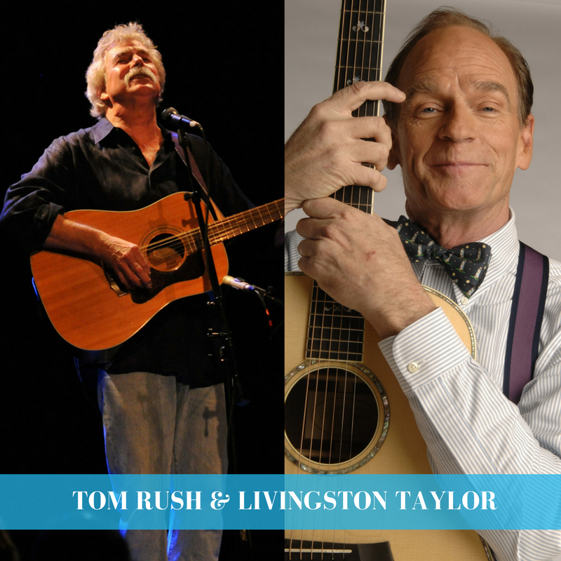 South Orange Performing Arts Center | Tom Rush & Livingston Taylor | 9.16