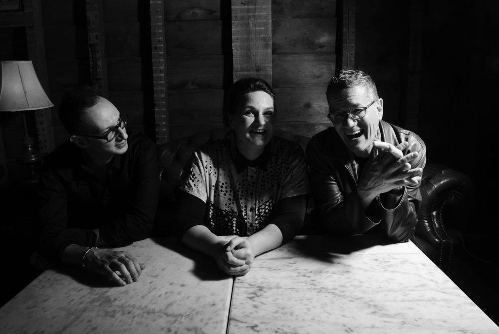 Madeline Peyroux, electric guitarist Jon Herington and upright bassist Barak Mori