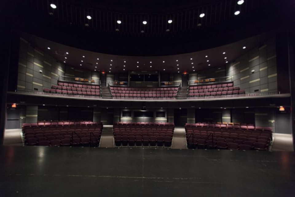 Grunin Center for the Arts - Ocean County College, College Drive, Toms River, NJ 08754Capacity 464 total
