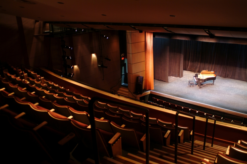 South Orange Performing Arts Center - 1 SOPAC Way, South Orange, NJ 07079 Capacity 439