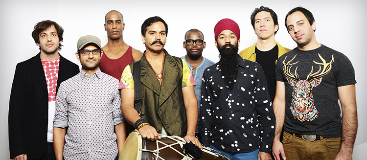 Red Baraat | Landmark on Main St | 4.13 | www.MusicWithoutBorders.com