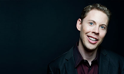 Fresh off his launch of  Happy Face,  Ryan Hamilton