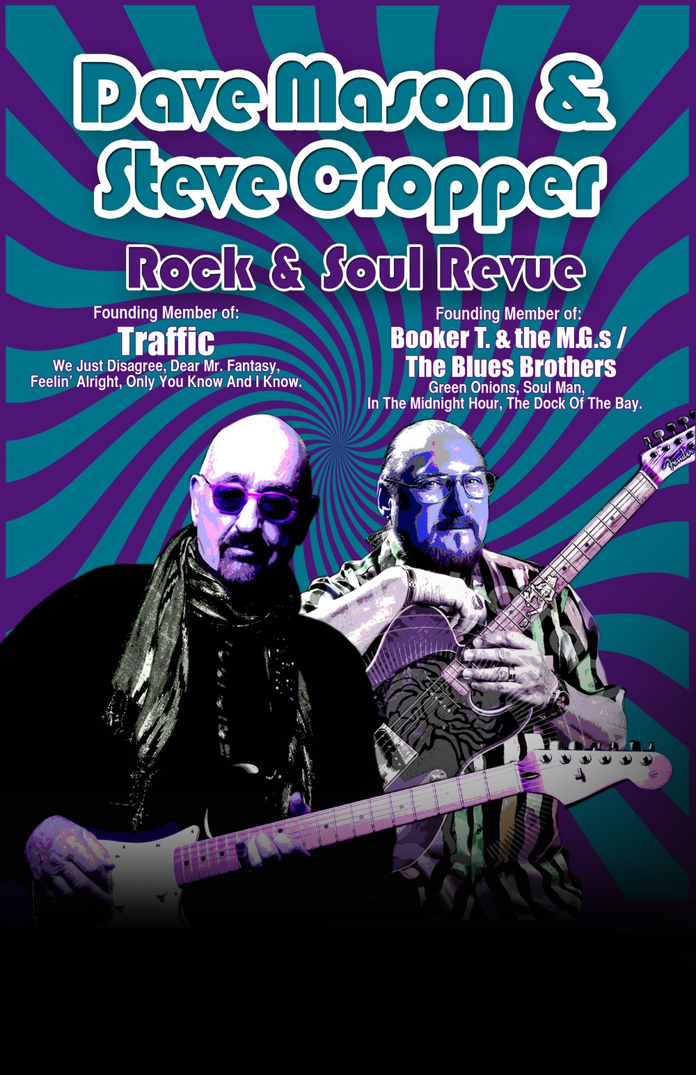 Dave Mason and Steve Cropper | Tarrytown Music Hall | Music Without Borders