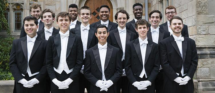Yale Whiffenpoofs MWB Music Without Borders