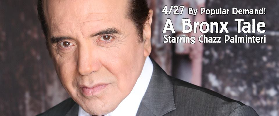 Chazz Palminteri A Bronx Tale MWB Music Without Borders