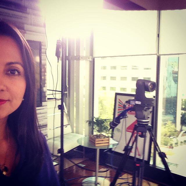 ¡Luces, cámara, acción! Excelsior TV #líderesturisteros #tv #México #tvshow #picoftheday #interview