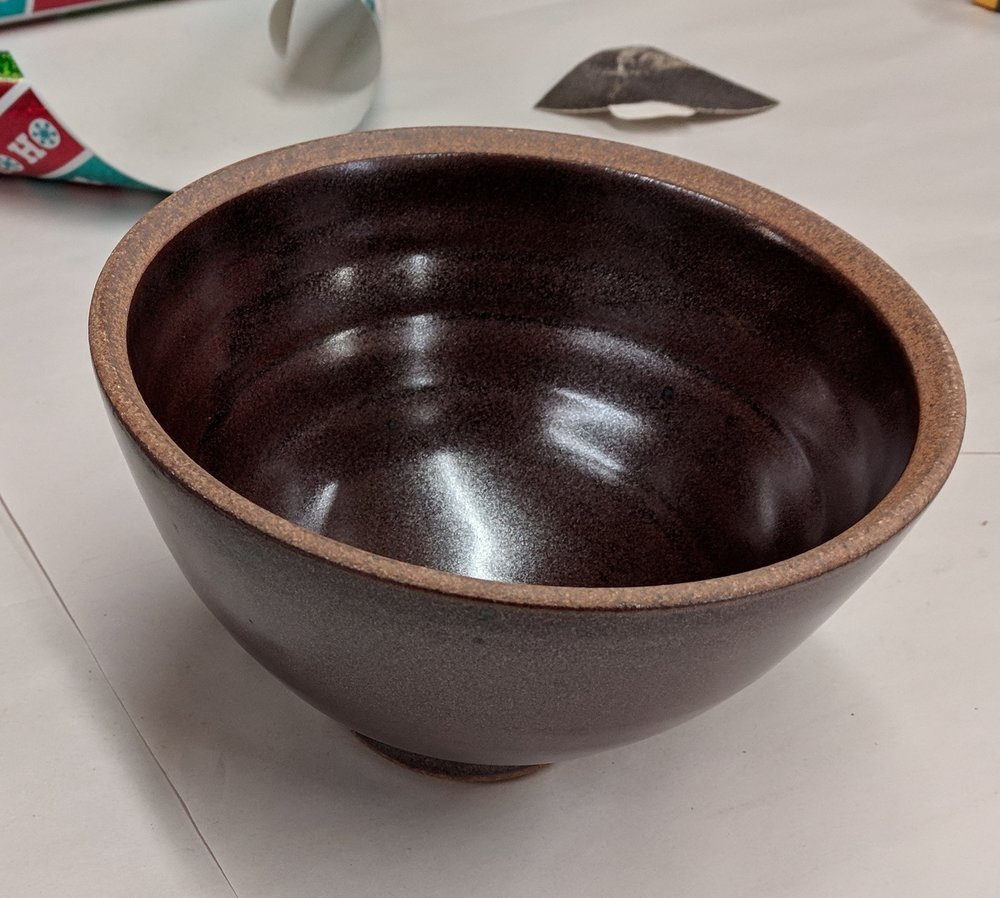 my new pho bowl. more of this glaze pattern coming in 2018!