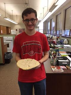 Nick Warren made a Cherry Pie!