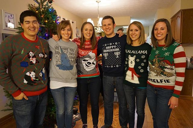 Ugly sweater party success but we sure did miss Ben! Happy holidays listeners. We hope you are enjoying the holiday season with family and friends!! #podcast #podcasts #podcasting #friends #holiday #uglysweaterparty