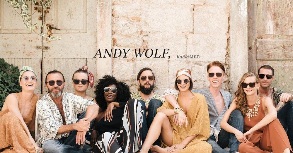Les mere om våre kule solbriller fra Andy Wolf her......