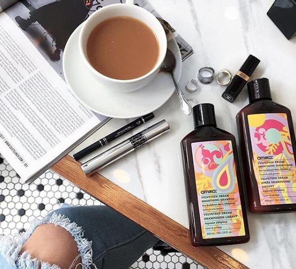 Amika pleieprodukter er din nye bestevenn; alltid de du kan stole på og med mange gode egenskaper. Photo credit: instagram @thedemeler via @love_amika