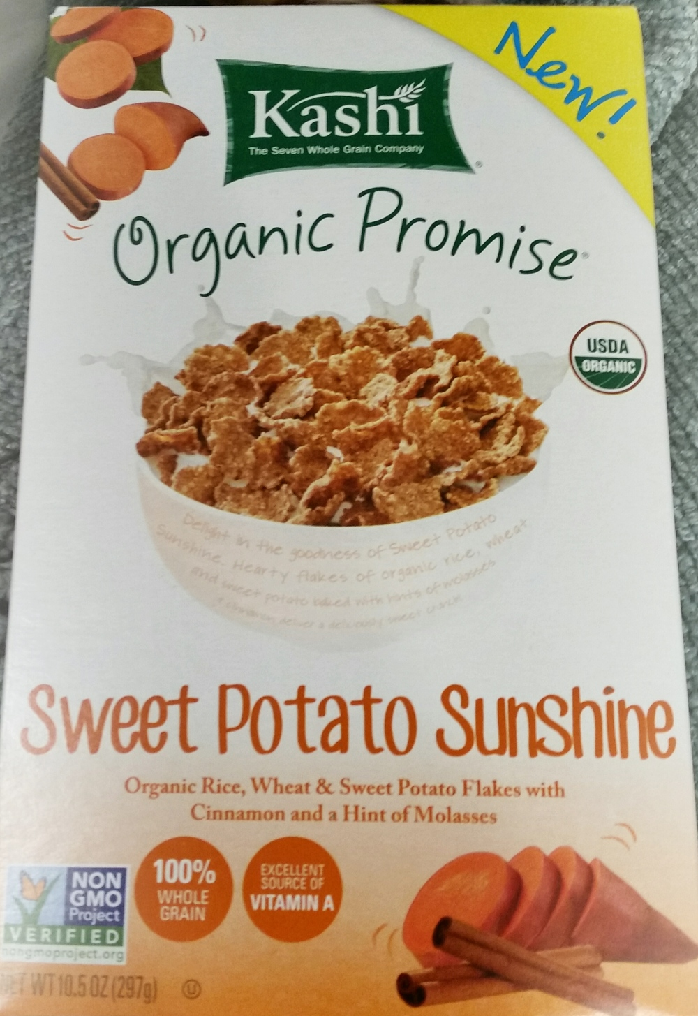 Kashi Sweet Potato Sunshine Cereal