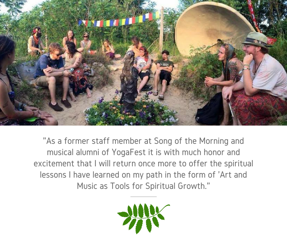 Art and Music as Tools for Spiritual Growth: Drew Phoria - Description: I will guide the workshop attendees through a community discussion on the following key interest points: Art and Music as Meditation (The Flow State), Art and the Collective Consciousness, Sound Healing and its' connection to the music we chose, exploring the symbolism in the art we chose, finding our inspiration, tapping into our enthusiasm, and using art and music as the tools to finding, becoming, and expressing our most authentic selves.About: Drew Phoria (Kalamazoo, MI) has been invited to offer his music, performance art, and workshop teachings, at events such as Michigan Peacefest, Branch Out Camp Out, Phases of the Moon, Hyperion, Mad tea Party, and Electric Forest. Throughout his performances and workshops, Drew's mission is to inspire and empower others to find and express their most authentic selves, through music, art, community, and spiritual empowerment.