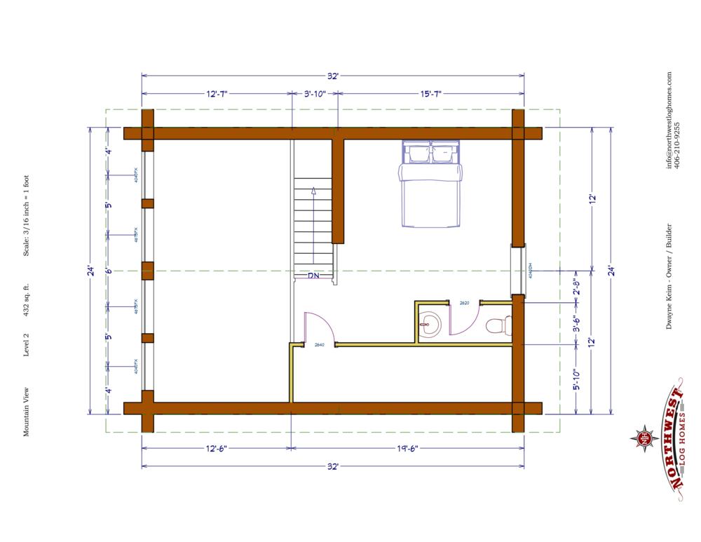Loft - 432 sq. ft.