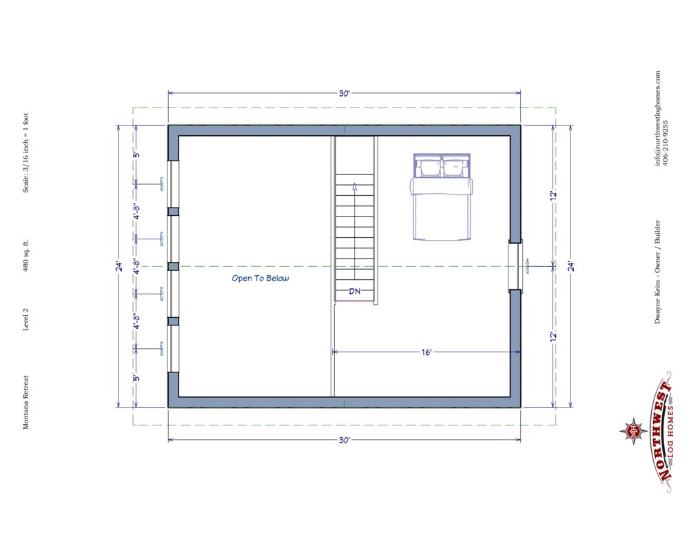 Loft - 480 sq. ft.