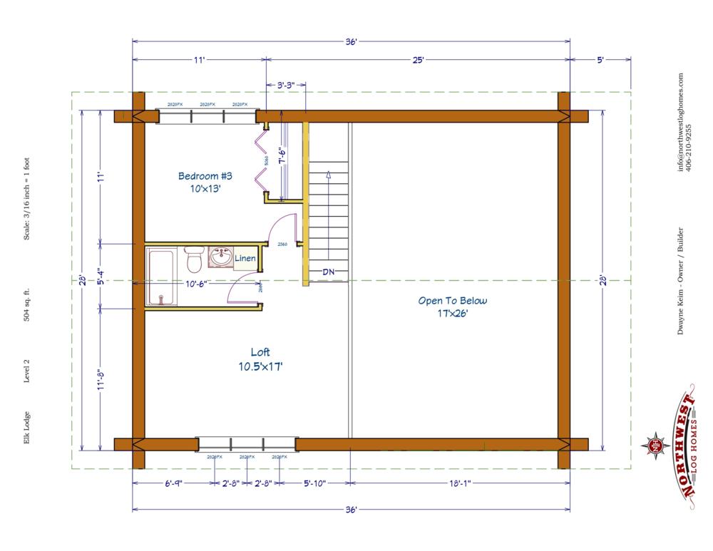 Loft - 504 sq. ft.