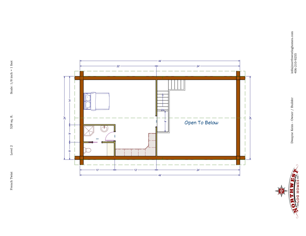 Loft - 528 sq. ft.