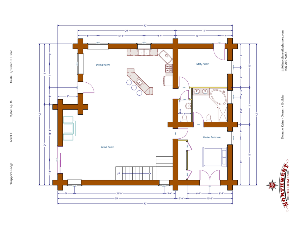 Main Floor - 2,076 sq. ft.
