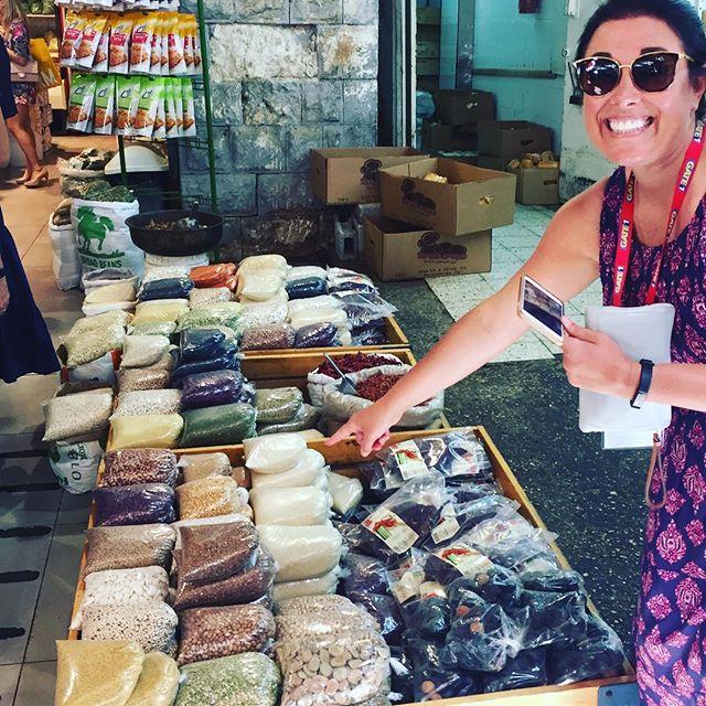 """One of each please!"" - spice shopping at the Souk Market, Tel Aviv, Israel #oasisgrouptours #oasisbiblicaltours #oasistrips #bibletours #theocratichistorytours #jwbibletours #jwtours#themostbeautifulofallthelands #mostbeautifulofallthelands"
